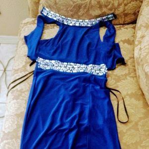 Long two piece dress